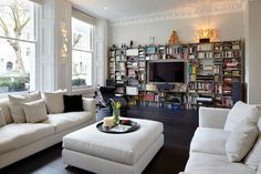 Emperors Gate, South Kensington, London - contemporary - Living Room - London - Dyer Grimes Architecture