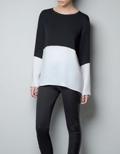 COMBINED STUDIO TOP - Shirts - Woman - New collection - ZARA 3790 new
