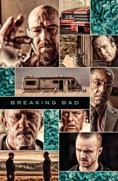 Breaking Bad - sharply focused poster #GangsterFlick