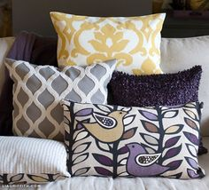 EASY DIY Zipper Pillow Covers by lia griffith | Project | Home Decor | Sewing / Decorative | Kollabora