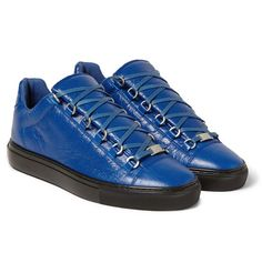 655f647d9045 Balenciaga - Arena Glossed-Suede High Top Sneakers