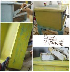 Crea Decora Recicla by All washi tape   Autentico Chalk Paint: ANTES Y DESPUES CON AUTENTICO CHALK PAINT