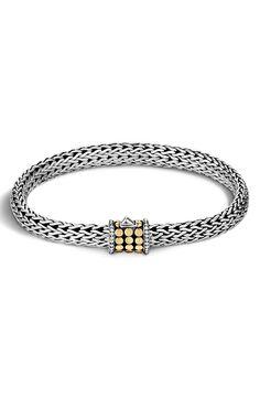 New John Hardy 'Dot' Small Bracelet,Silver fashion online. [$650]newoffershop win<<