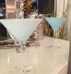 No Regrets Oklahoma City, Martini glasses for the hostesses with the mostest!