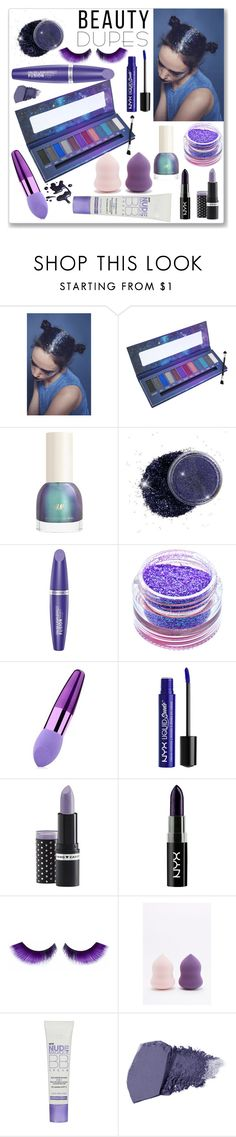 """""""Drugstore Beauty Dupes"""" by ludmyla-stoyan ❤ liked on Polyvore featuring beauty, In Your Dreams, Max Factor, Medusa's Makeup, Zodaca, Hard Candy, NYX, NPW, L'Oréal Paris and Jane Iredale"""