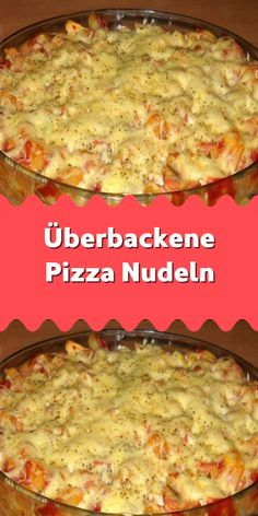 Überbackene Pizza Nudeln Great choice for a delicious lunch. It is relatively simple and, above all, quick to prepare. If you like pasta it will definitely taste good. Pizza Taco, Pizza Hut, Pizza Recipes, Lunch Recipes, Pizza Au Four, Spaghetti Recipes, Vegetable Drinks, Healthy Eating Tips, How To Cook Pasta