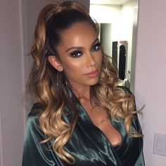 """""""Gorgeous glam by @makeupbyariel on @iamerica_mena using @LillyLashes in """"Cairo"""" and """"Dubai"""" stacked w/ """"Sky High"""" individuals   Learn how…"""""""