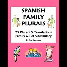 1000 ideas about spanish worksheets family on pinterest