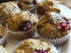 Quinoa raspberry muffins - made these today!!