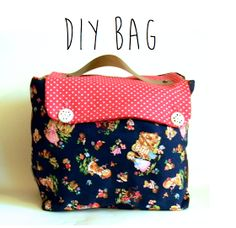 DIY Briefcase, Diaper Bag, Lunch Bag, Or Really Any Kind of Bag!