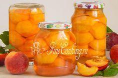 Консервированные персики на зиму - рецепт с фото