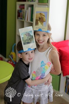 Fun way to review CC Timeline material!    living out His love: Classical Conversations {Timeline Hedbanz}