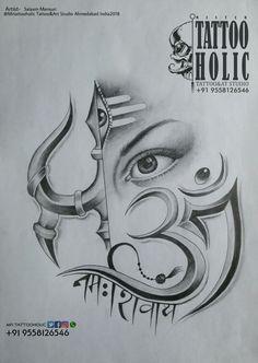 New Trading Mahakal BaBa 2 Amazing Pic collection 2019 Girl Drawing Sketches, Art Drawings Sketches Simple, Pencil Art Drawings, Drawing Art, Ganesha Drawing, Ganesha Art, Ganesha Sketch, Lord Shiva Sketch, Smal Tattoo
