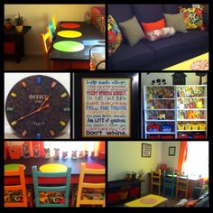 Kids craft/playroom/family and guest room