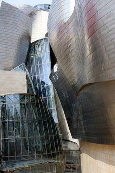 Guggenheim Museum Bilbao, Spain.  Frank Gehry, Architect #gehry