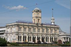 Ленинградский вокзал. Москва