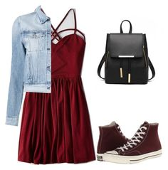 """Untitled #20"" by katherinewlfc on Polyvore featuring American Eagle Outfitters, 3x1 and Converse"