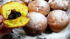 Babkine šišky - za celých 60 rokov som lepšie šišky nejedla: Aj na druhý deň sú krásne mäkučké, ako čerstvé! Doughnut, Muffin, Fruit, Breakfast, Food, Buns, Youtube, Basket, Morning Coffee