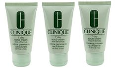 Lot of 3 Clinique 7 Day Scrub Cream Rinseoff Formula 30ml Each *** Click image to review more details. (Note:Amazon affiliate link)