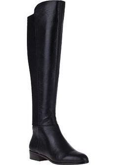 MICHAEL Michael Kors - Bromley Flat Tall Boot Black Leather--my fav boot