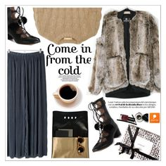 """""""Come in from cold"""" by teoecar ❤ liked on Polyvore featuring Michael Kors, Marc Jacobs, women's clothing, women's fashion, women, female, woman, misses, juniors and popmap"""