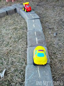 25+ DIY Outdoor Playscapes and Learning Station Ideas! | Preschool Powol Packets