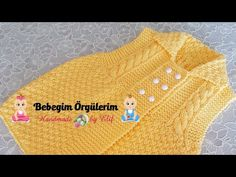 Knit Baby Dress, Crochet Baby Shoes, Baby Knitting Patterns, Baby Patterns, Crochet Videos, Crochet For Kids, Baby Kids, Embroidery, Youtube