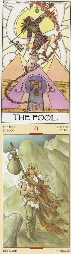 THE FOOL: innocence and unaware of consequences (reverse). Mage Awakening Tarot deck and Holy Grail Tarot deck: online tarot spread, free mexican tarot card reading vs tarotangeles. The best wiccan spells and goth girl.