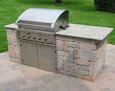 Diy Bbq island Best Of Grill tops for Outdoor Kitchens. Grill Island, Granite Bathroom, Basic Kitchen, Kitchen Ideas, Kitchen Supplies, Kitchen Designs, Kitchen Tips, Outdoor Kitchen Countertops, Built In Grill