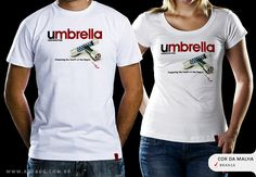 R$49.00 Catálogo - Camiseta Umbrella - Camisetas Red Bug
