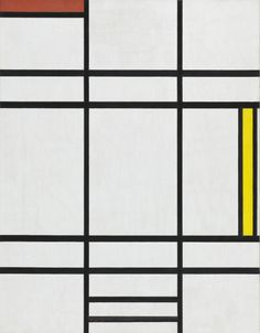 Composition in White, Red, and Yellow   LACMA Collections