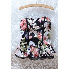 $11.25 Tiny Floral Print Off-The-Shoulder Sleeveless Retro Style Chiffon Vest For Women