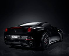Black Ferrari California #CarFlash