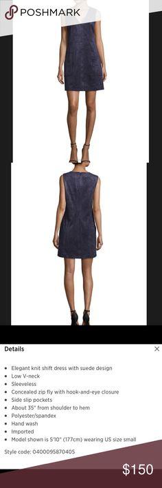 BCBG Suede Dress. Size XS. NWT. BCBG Suede Dress. Size XS. NWT. BCBG Dresses Mini