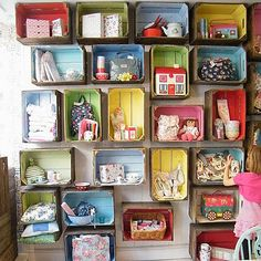 stuffed toy storage for kids room | Clutter Turned Cute! 11 Inspirational Toy Storage Ideas