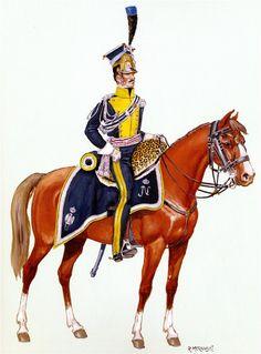 Vistula legion Chef eskadrona.Polnaya forma.1811-12