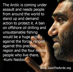 Powerful reasons to take action for the Arctic, from our Executive Director Kumi Naidoo.    savethearctic.org