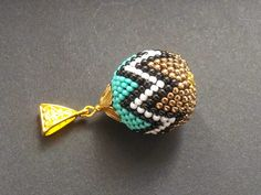 jewelry-blond: Patterns for crochet beads - 1