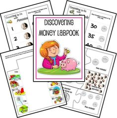 Free Discovering Money Lapbook and Printables