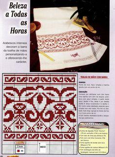 Gallery.ru / Фото #144 - 3 - unito Crochet Chart, Filet Crochet, Embroidery Patterns, Cross Stitch Patterns, Cross Stitch Magazines, Tapestry Crochet, Monochrom, Cross Stitching, Blackwork