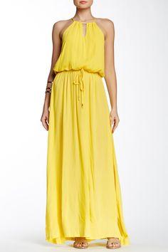 Mellow Yellow --Grecian Maxi Dress by S.H.E. on @HauteLook