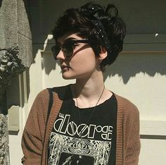 20 Most Popular Short Hairstyles For Women - Stylendesigns 10 Short Haircuts for Straight Thick Hair Popular Short Hairstyles, Short Hairstyles For Thick Hair, Short Pixie Haircuts, Short Curly Hair, Short Hair Cuts, Curly Hair Styles, Thick Hair Pixie, Dark Short Hair Styles, Pixie Haircut For Thick Hair Wavy
