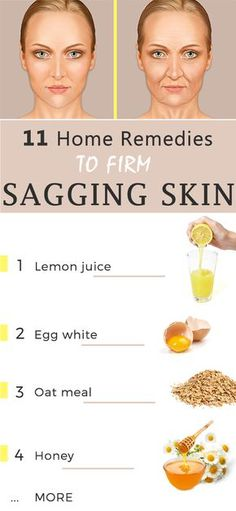 Sagging skin is a very serious matter for people all around the world.You can improve your skin's appearance by using natural home made remedies.