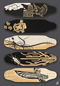 Skateboard Grip Tape Art