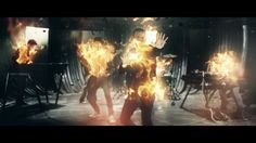 Linkin Park - BURN IT DOWN (Official Music Video)        We didn't build it for you to burn it down, when you play with fire, you will get burnt, this is a promise, pinky swear.
