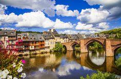Espalion Village, France