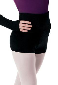 Adult Rollover Warm-Up Short | Mirella