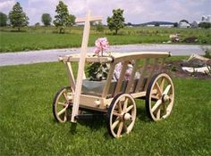Amish Goat Wagon - Small Premium, I want to use something like this to drive my goats.