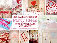 valentine's decorating ideas | Valentines Party Ideas