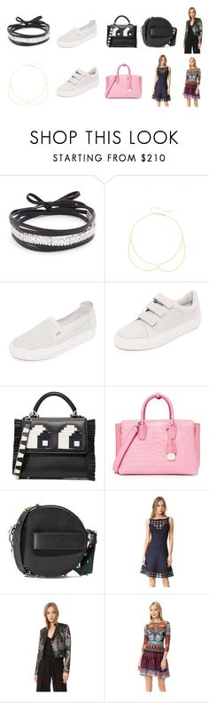 """lover of fashion"" by justinallison ❤ liked on Polyvore featuring Amber Sceats, Jacquie Aiche, Rachel Zoe, Les Petits Joueurs, MCM, Thierry Mugler, Hervé Léger, Yigal AzrouÃ«l and Temperley London"